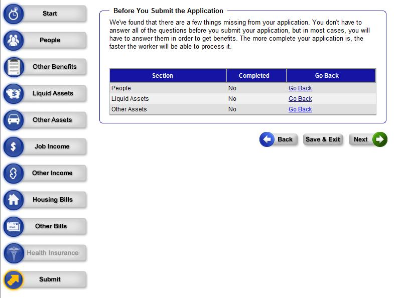 when and where to submit the application for a csq