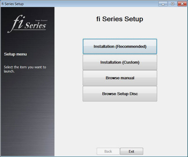45 Install Paperstream Software